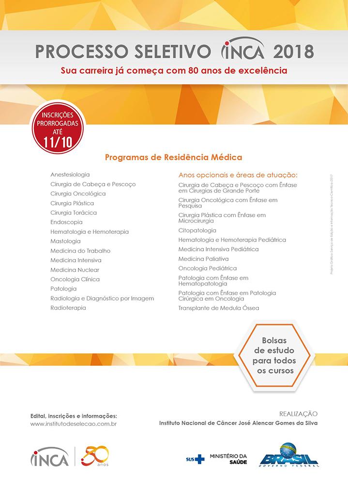 Processo seletivo 2018 _ area medica