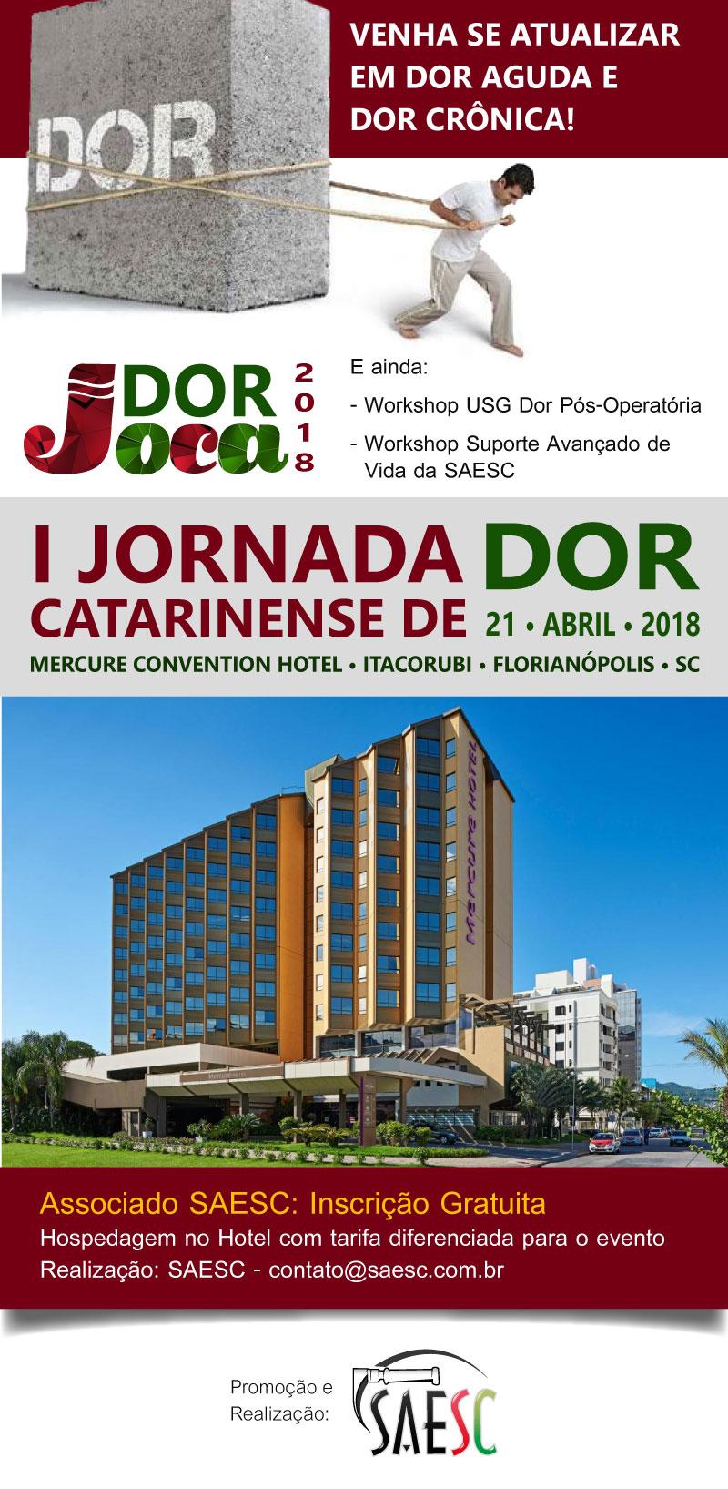 I Jornada Catarinense de Dor