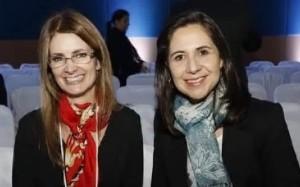 Claudia e Adriana: assessoras jurídicas da SBA
